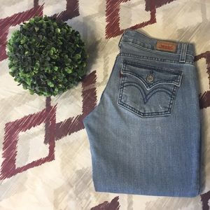 Levi's Too Superlow 524 Light Denim 5M